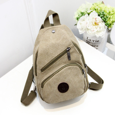 MIWIND New Style Women Backpack Female Fashion Canvas Backpack Multifunction Solid Color Ladies Small Travel Bag Backpack TDD529
