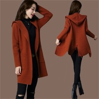 Winter Sweater Coat Korean Version Of The Long Paragraph Sweater Sweater Wool Large Size Thick Shawl