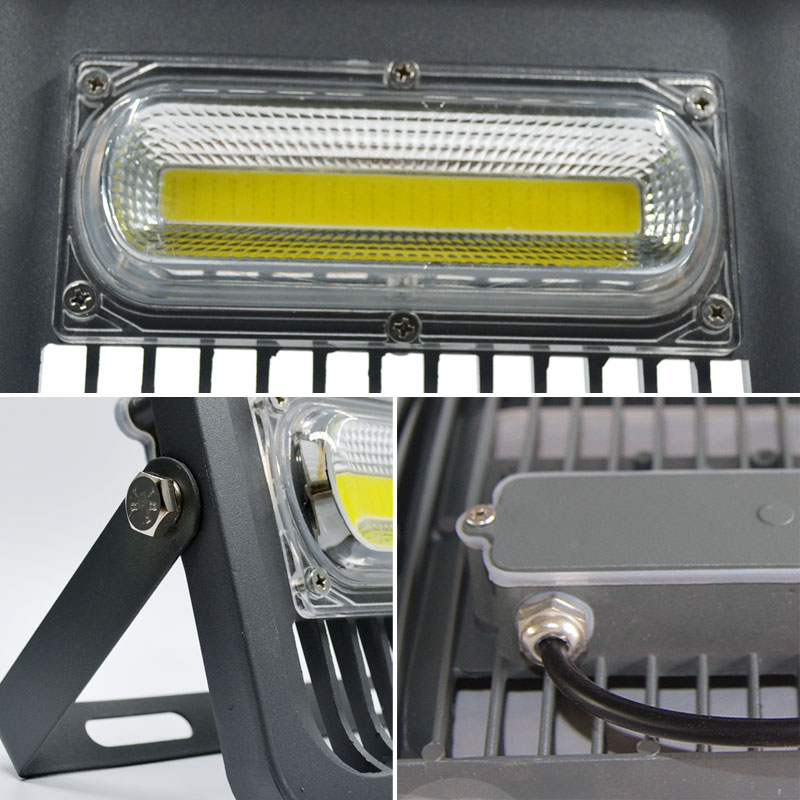 LED ջրհեղեղի լույս 100W 50W 30W Floodlight IP65 - Արտաքին լուսավորություն - Լուսանկար 5