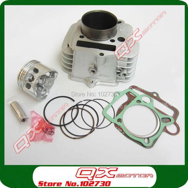 YinXiang YX140 Engine Cylinder with 56mm piston kit cylinder head gasket for Kayo Apollo Bosuer Xmotos 140cc Dirt Pit Bikes