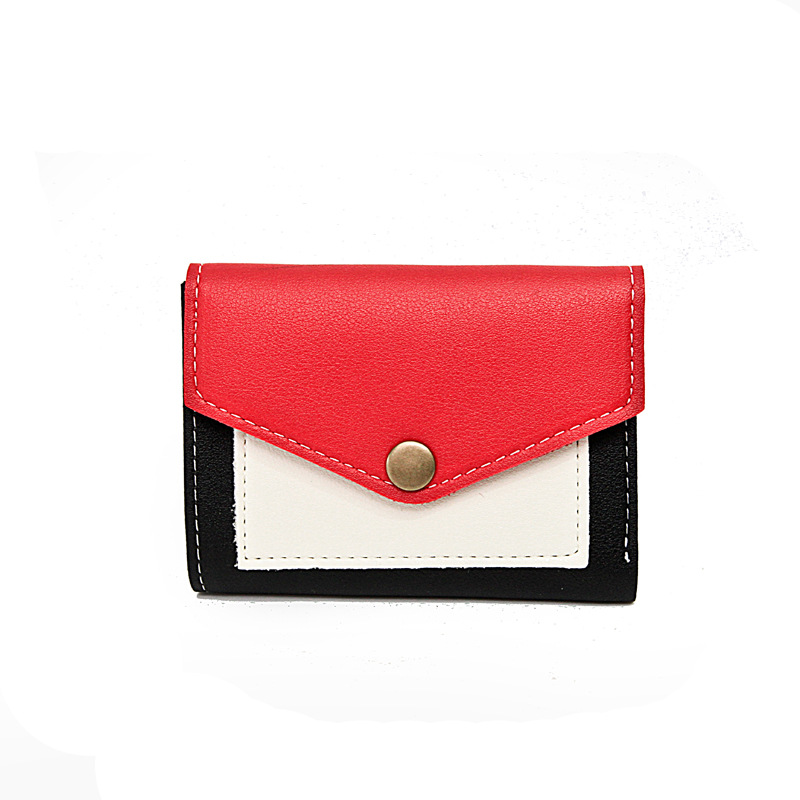 Hot Fashion Women's Purse Thin Hasp Women's Wallet Ladies PU Leather Wallets Female Purse Mini Card Case Cheap Womens Wallets smirnoff slim genuine leather wallet case hand made custom name hasp simple style mens wallet super thin card purse mini wallet