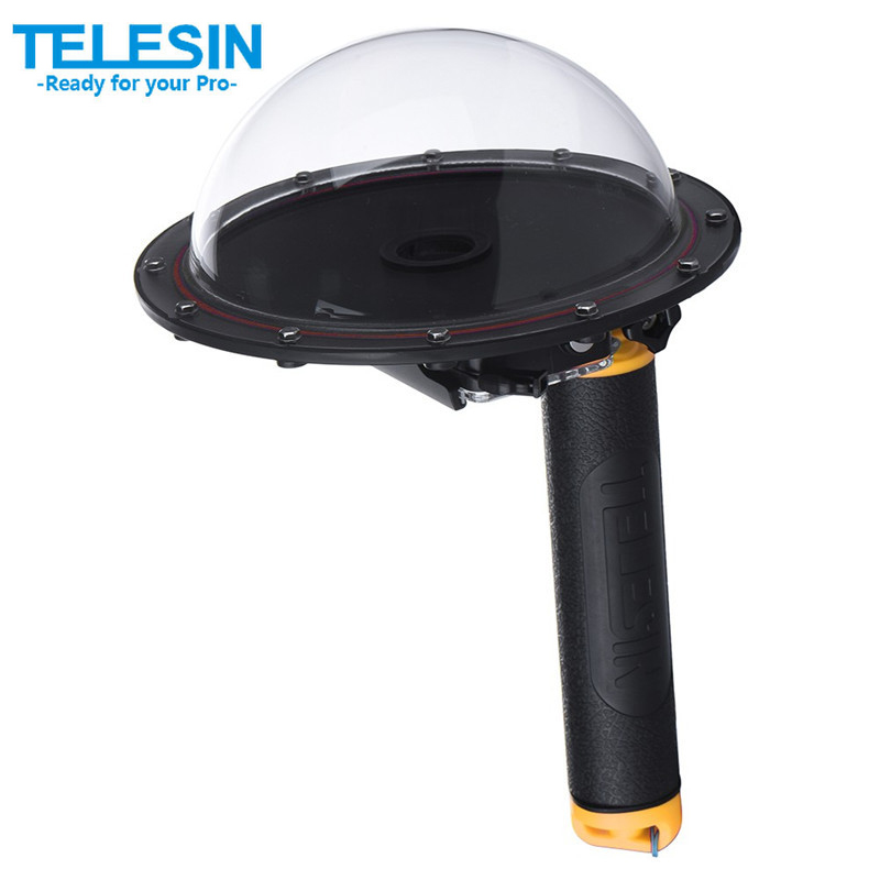 New upgrade TELESIN Release 6 Underwater T03 Dome Port Diving Lens Photography Dome Port for Gopro Hero3+/4 new release 6 underwater t03 dome port diving lens photography dome port for the gopro hero3 3 4 t03 dome port