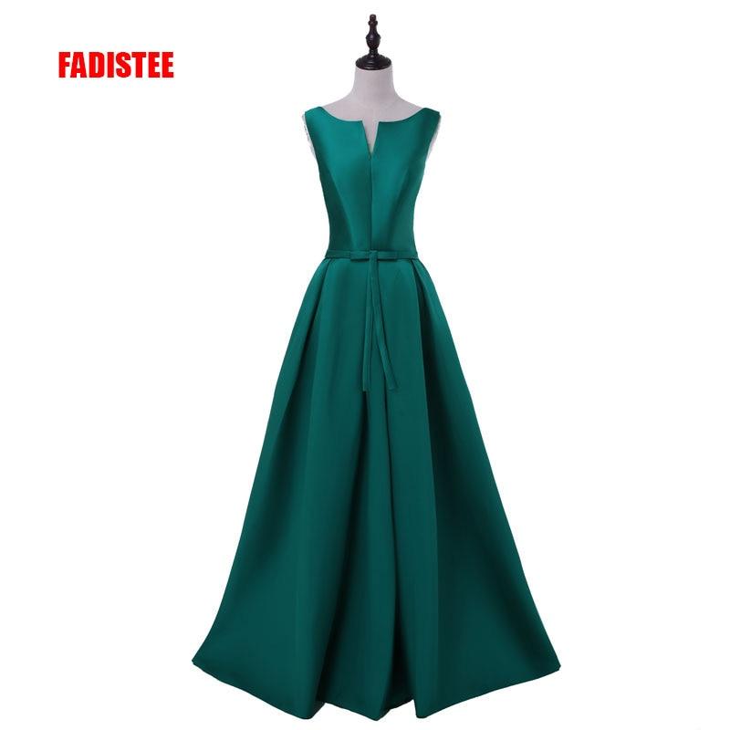 2018 Hot sale elegant evening dresses V opening back prom formal party dress vestidos de festa