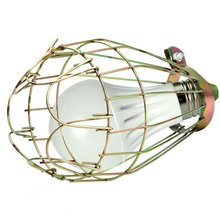 Retro Iron Wire Bulb Guards Clamp Lampshade Lamp Cage Household Light Fittings(China)