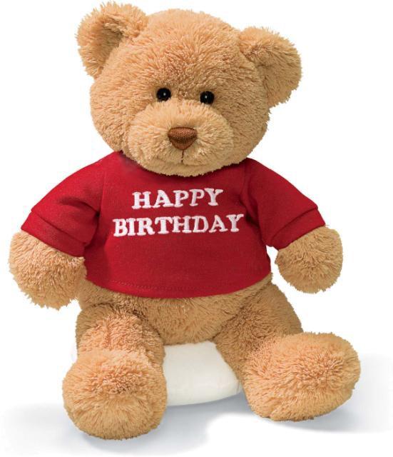 ФОТО toy heavly happy birthday teddy bear