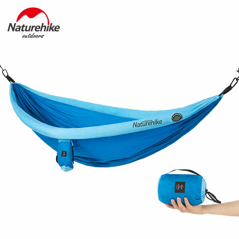 NatureHike Outdoor indoor Inflatable tube Hammock Sleeping Tent Single double Hanging Tent dormitory hanging chair