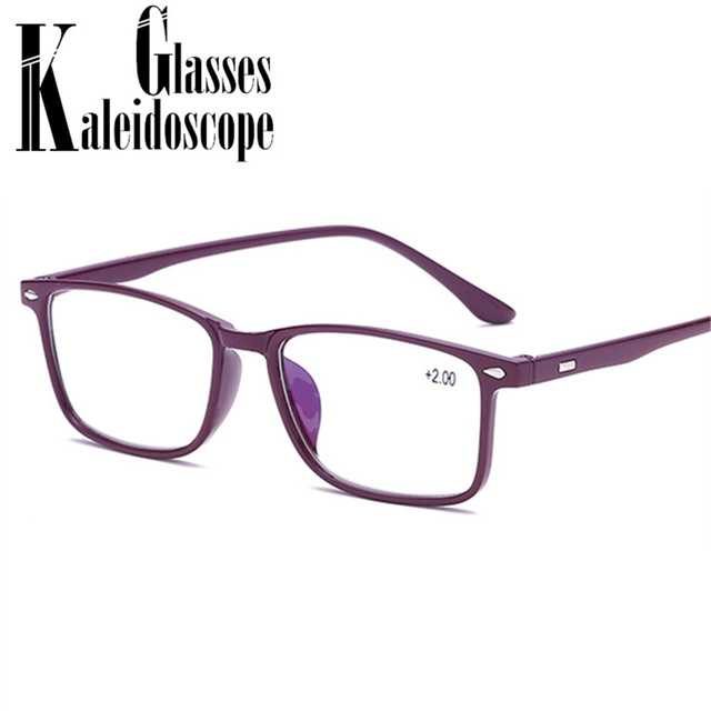 Women Men Reading Glasses Blue Film TR90 Presbyopia Reading Eyeglasses Female Male Presbyopic Glasses +1.0 1.5 2.0 2.5 3.0