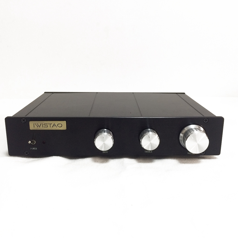 Electronical 2 Way Crossover Preamplifier HIFI Linkwitz-Riley filter 4-Channel Output Crossover-point 2.2K Hz Customized music hall latest linkwitz riley electronic crossover 2 way frequency divider 2 band handle preamp free shipping