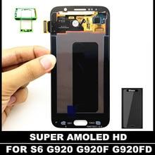 Probado Reemplazo Lcd Del Teléfono para Samsung Galaxy S6 G920 G920F G920FD G920A G920I G920K Pantalla LCD con el Digitizador del Tacto