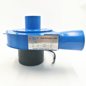 цена на High temperature blower 60w Small 10cm Pipe fan Hot Smoke Gas Suck Extraction Small CCentrifugal Fan Blower 220v