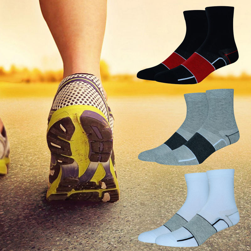 Unisex Romantic Couple Cats Athletic Quarter Ankle Print Breathable Hiking Running Socks