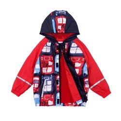 2020 crianças meninos jaqueta de chuva cartton plutônio crianças outerwear impermeável veludo capas de chuva poncho à prova vento ao ar livre casacos