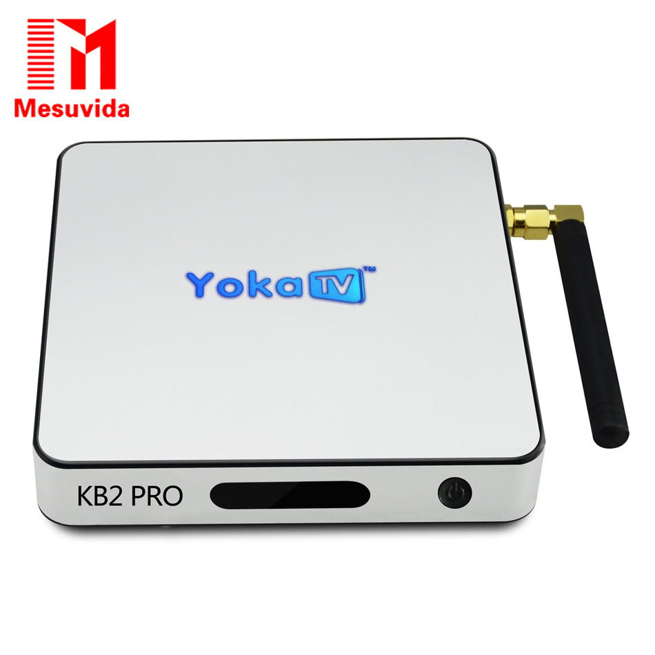 Yokatv KB2 PRO Box Amlogic S912 Octa Core Android 6.0 Smart TV Box 3GB 32GB Set-Top Box BT 4.0 2.4G 5G Dual WIFI 4K Media Player 3gb 32gb android 7 1 smart tv box csa93 amlogic s912 octa core wifi bt4 0 4k 1000m lan streaming smart media player i8 keyboard