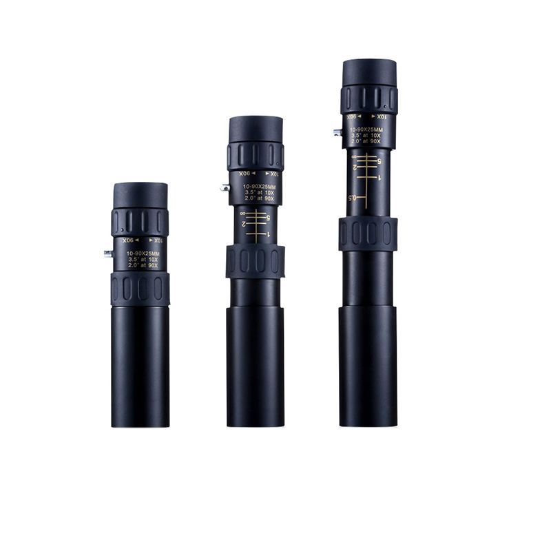10-30x25 HD bir böyüdücü bir boru Monokulyar 128mm-200mm - Düşərgə və gəzinti - Fotoqrafiya 4