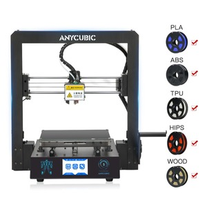 Image 3 - Anycubic 3Dプリンタメガsフィラメント印刷フルメタルフレーム工業用グレードの高精度impresora 3dキットimprimante