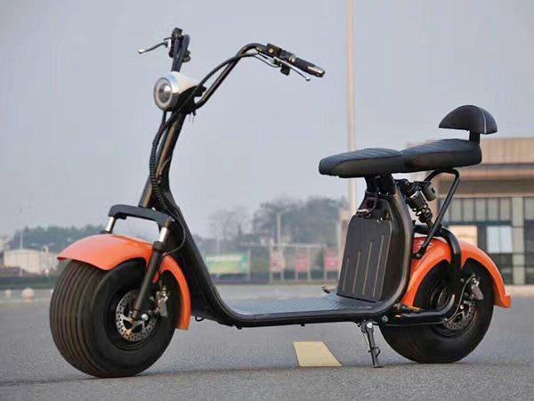 Harley 1000w Scooter Removable Battery 2 Wheel Citycoco