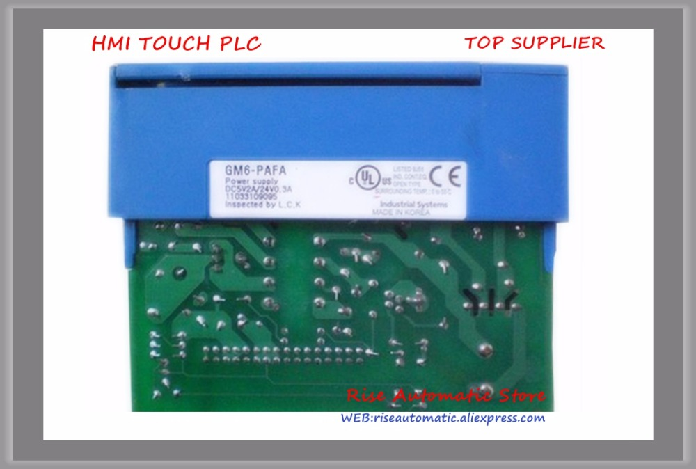 New K200S Series PLC Power Sup ply Mod ule GM6-PAFA 100~240VAC 5VDC 2A 24VDC 0.3A new lp2k series contactor lp2k06015 lp2k06015md lp2 k06015md 220v dc