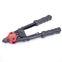 YOUSAILING 13 320MM Heavy Duty Hand Rivets Gun Double Hand Manual Riveting Tool Handle Riveter Gun