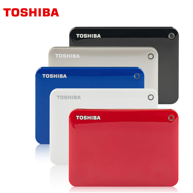 TOSHIBA Canvio External Hard Drive 1TB 2TB HDD 2.5 USB 3.0 Hard Drive HD externo Hard Disk disco duro externo For Laptop