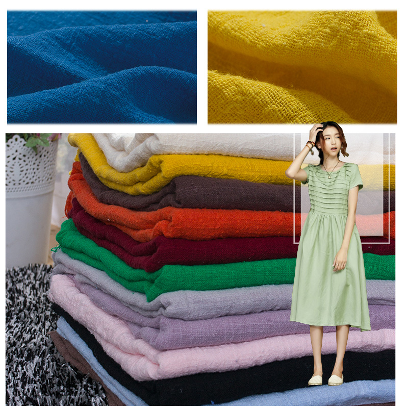1.35m wide,Bamboo cotton cloth solid color linen summer women dress clothes winter scarf shawl 060-1