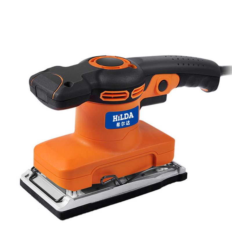 320W Mini Electric Sander Woodworking For Polishing Wood Metal rust Wall renovation With Self-adhesive Sandpaper Flocking 6 speed 550w polisher electric sander woodworking for polishing wood metal rust wall self adhesive sandpaper