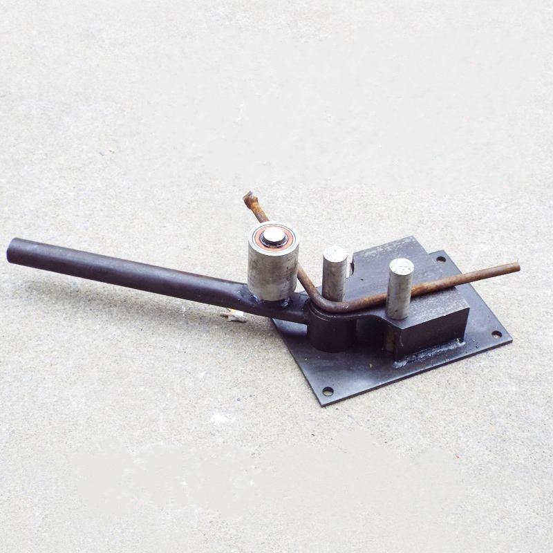 New Manual Reinforced Steel Bar Bending Tools Rebar Bender Bending Machine Construction Tools