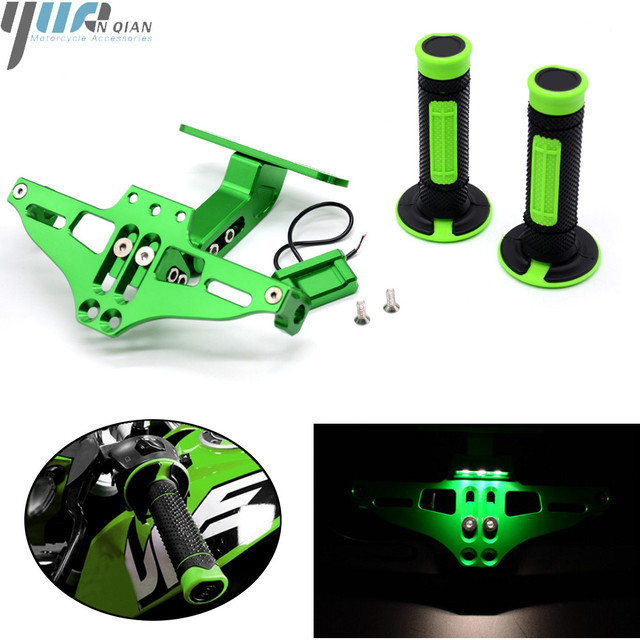 Motorcycle  Parts Universal Fender Eliminator License Plate Bracket Tidy Tail Fit for kawasaki street bikes and sport bikes KX