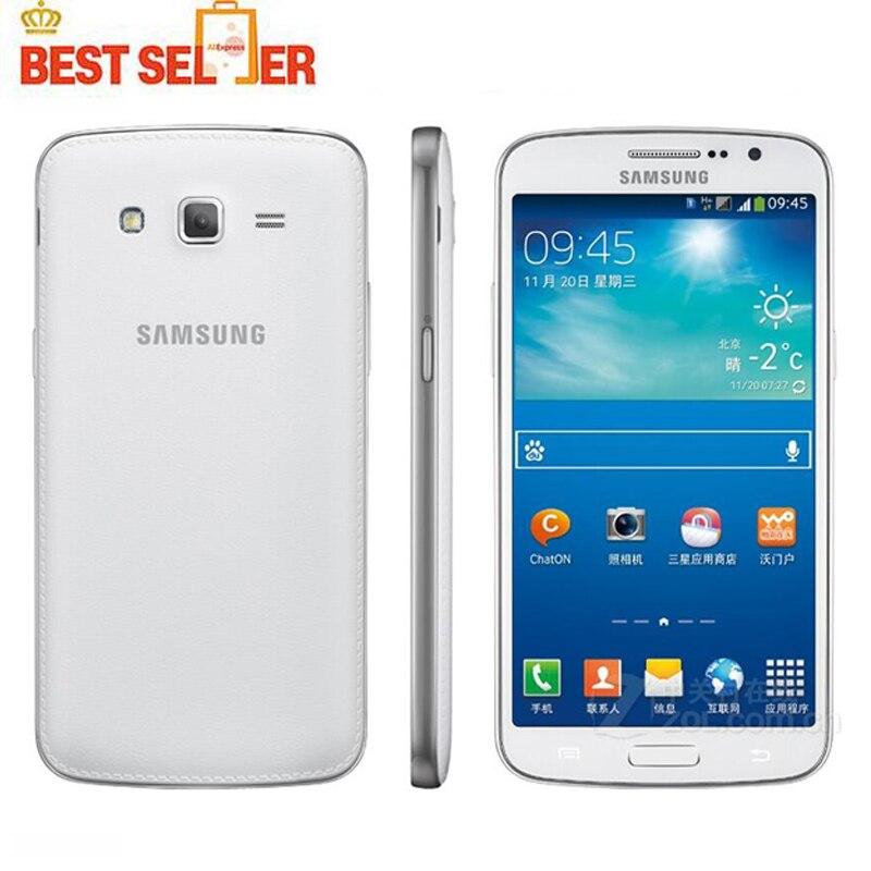 Цена за Оригинал Samsung Grand 2 G7102 Мобильный Телефон 8MP Камерой GPS WIFI Dual SIM Quad core Восстановленное Мобильного Телефона Бесплатная Доставка