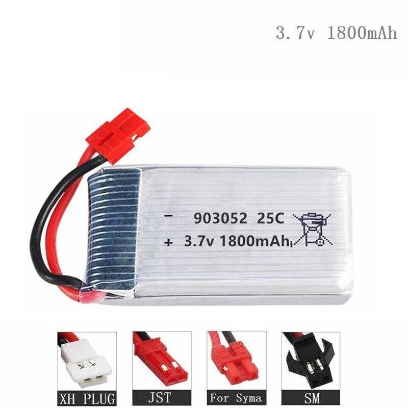 1800mah 3.7V Lipo Battery For KY601S  X5 X5S X5C X5SC X5HC X5SH X5SW M18 H5P H11D H11C T64 T04 T05 F28 F29 T56 T57  903052