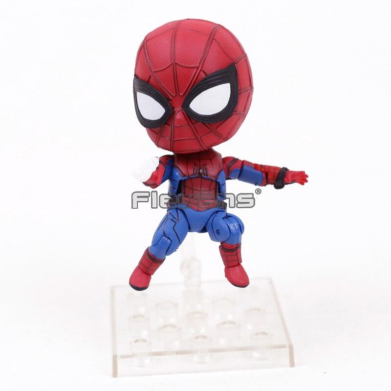 Человек-паук Симпатичные Nendoroid #781 Человек-паук выпускников Питер Паркер ПВХ Acion рисунок куклы Supder герой предмет коллекционирования модель и...