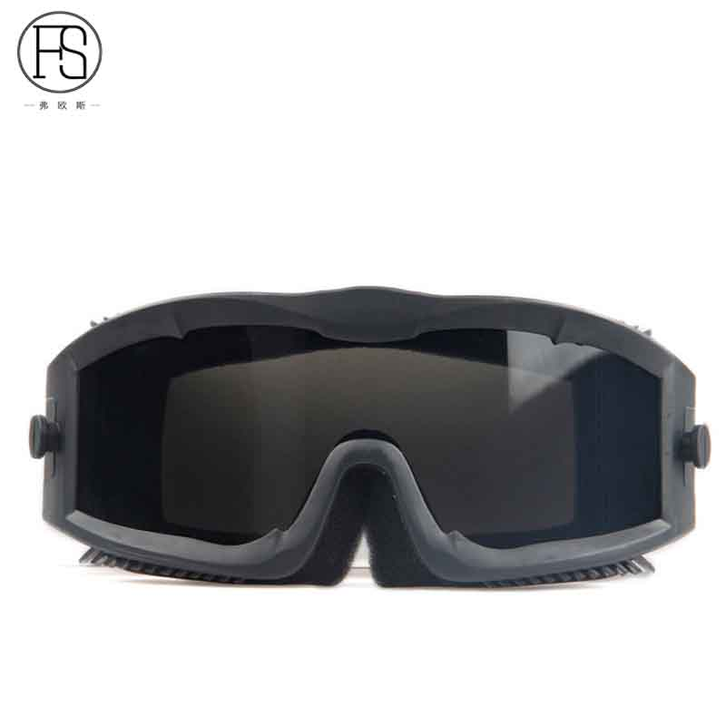 Gioielli Di Lusso Low Price Good Quality Sport Goggles Military Activities Eyewear Mountain Bike Sunglasses Men Windproof Desert Glasses 3 Lens Orologi E Gioielli