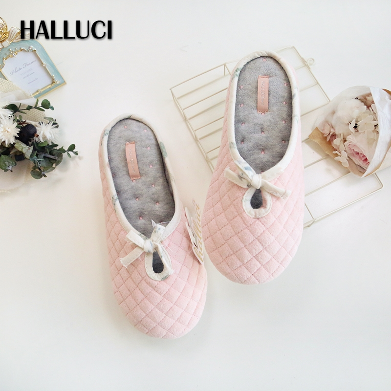 Hot SALE Pure Cotton Home Slippers Shoes Woman Casual Easy Indoor Bedroom Slippers Pregnant Women Keep Warm Flip Flops