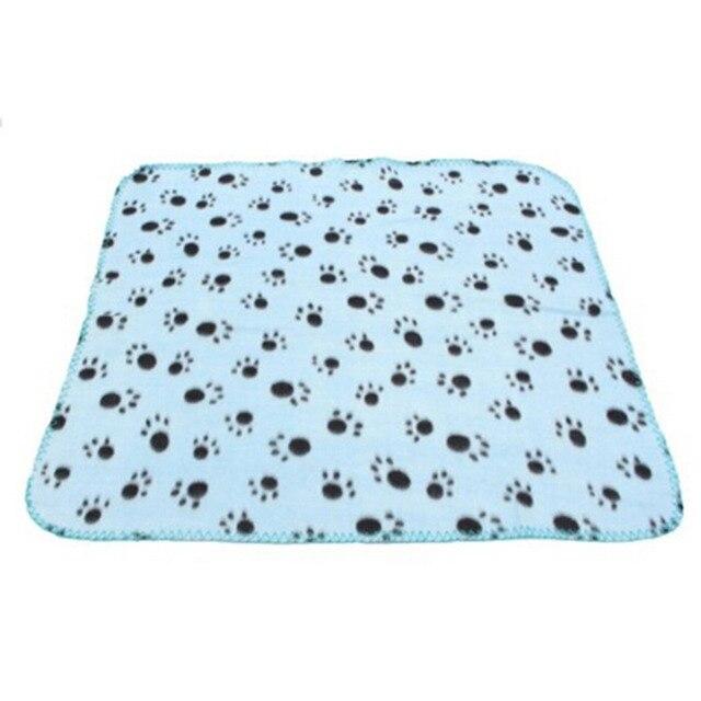 Soft Pet blanket Dog Cat Blanket Pet Mat 60x70cm Three Colors 6