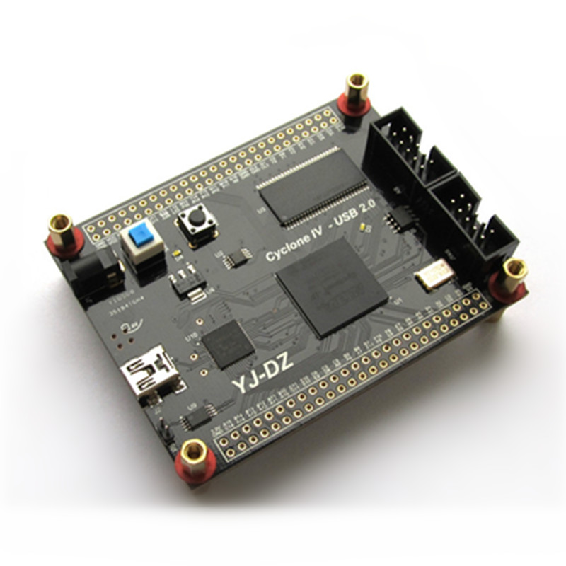 EP4CE10 Altera Cyclone 4 FPGA+USB development board Y7c68013 high speed USB2.0 electronic system design fpga development board stm32f103vct6 development board high speed ad da comparator