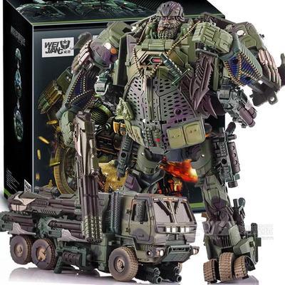 Livraison gratuite offre spéciale Leader Hound grande taille 20 cm Weijiang modèle TF Robot de Transformation Optimus alliage & ABS