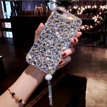 Luxurious 3D Bling Jewelled Rhinestone Crystal Diamond Soft Phone Case