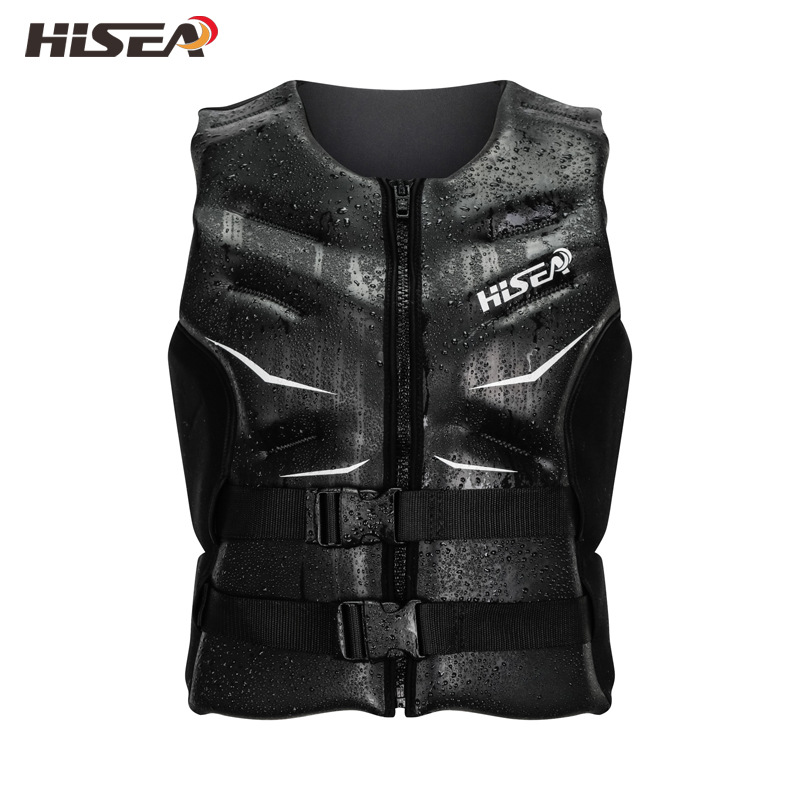 Hisea Men Women Professional Life Jacket Vest Neoprene Swimming Surfing Children