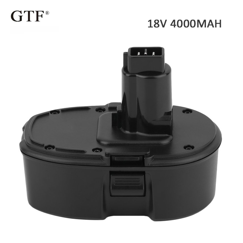 4.0A NI-CD Rechargeable Battery For Dewalt 18V battery Portable Replacement DC9096 Electric Power Tool