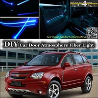 For Chevrolet Captiva For Daewoo Winstorm interior Ambient Light Tuning Atmosphere Fiber Optic Band Lights Door Panel Refit