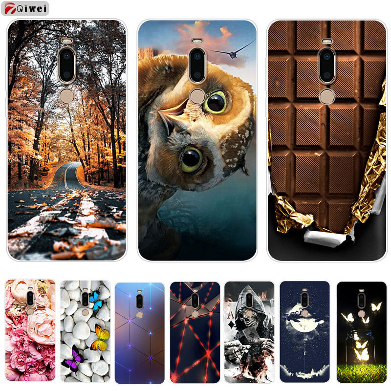 For Coque Meizu M8 Case Cover Soft TPU Silicone Phone Case For Fundas Meizu M8 Lite Case Cartoon Capas M8 M 8 Lite M8lite 5.7