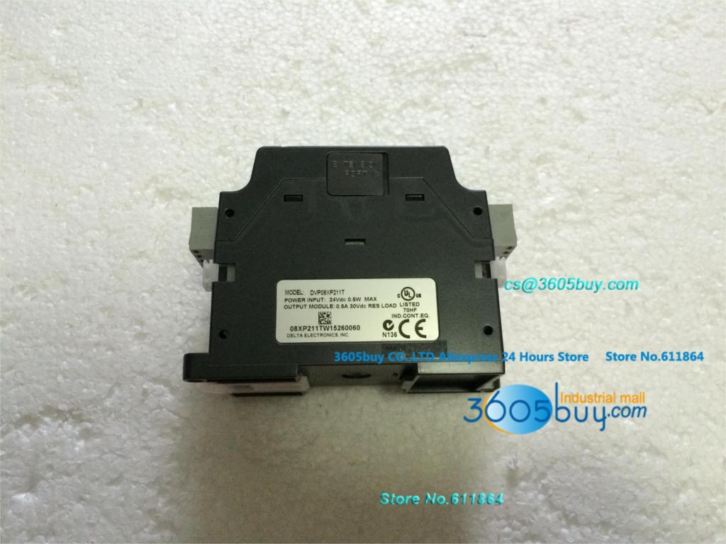 New original Delta PLC DI 4 DO 4 Transistor 24VDC DVP08XP211T электрошашлычница delta кавказ 4