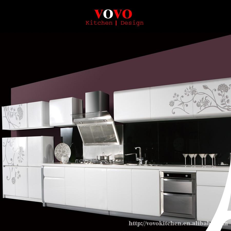 Kitchen Cabinet From China: China Modern White Lacquer Kitchen Cabinet-in Kitchen