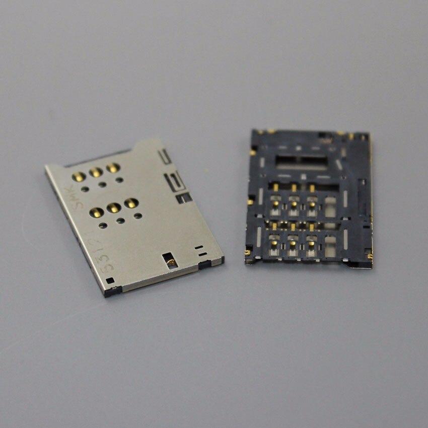 ChengHaoRan 10Pieces New OEM Sim Card Tray Holder Slot Reader For Sony Xperia U ST25i ST25,KA-103