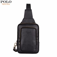 VICUNA POLO High Quality Trendy Mens Crossbody Bag Fashion Casual Men S Chest Bag Leisure Shoulder
