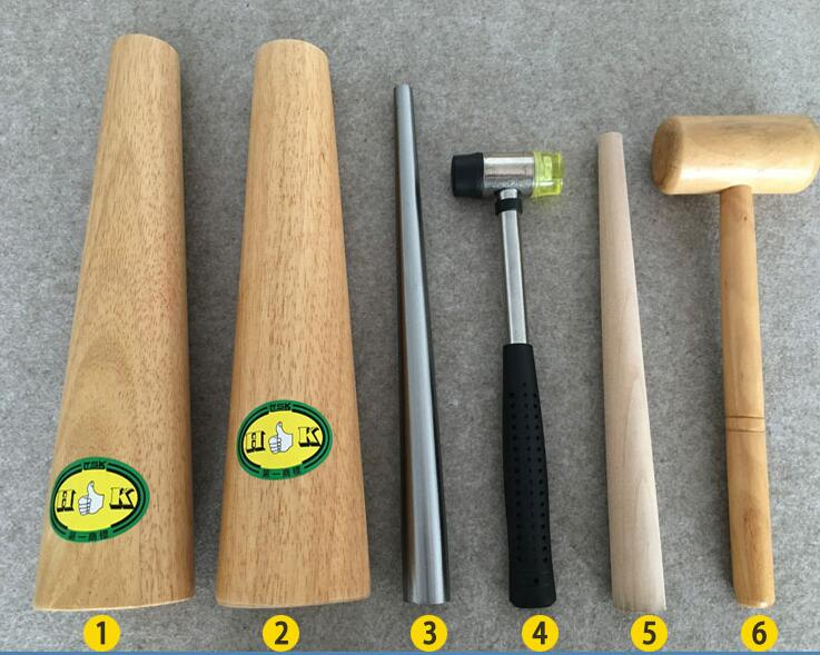 jewelry tools Ring Sizer Finger Sizing Measure Stick Metal Wood Mandrel US EU Wooden Ste ...