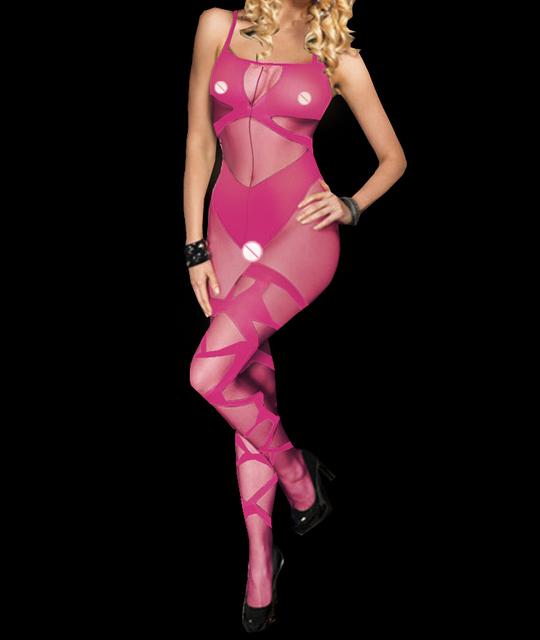 Sexy silk stockings costumes Lingerie Babydoll baby dress Crotchless Underwear Sleepwear  Chemises Sleepwear Tights 6657