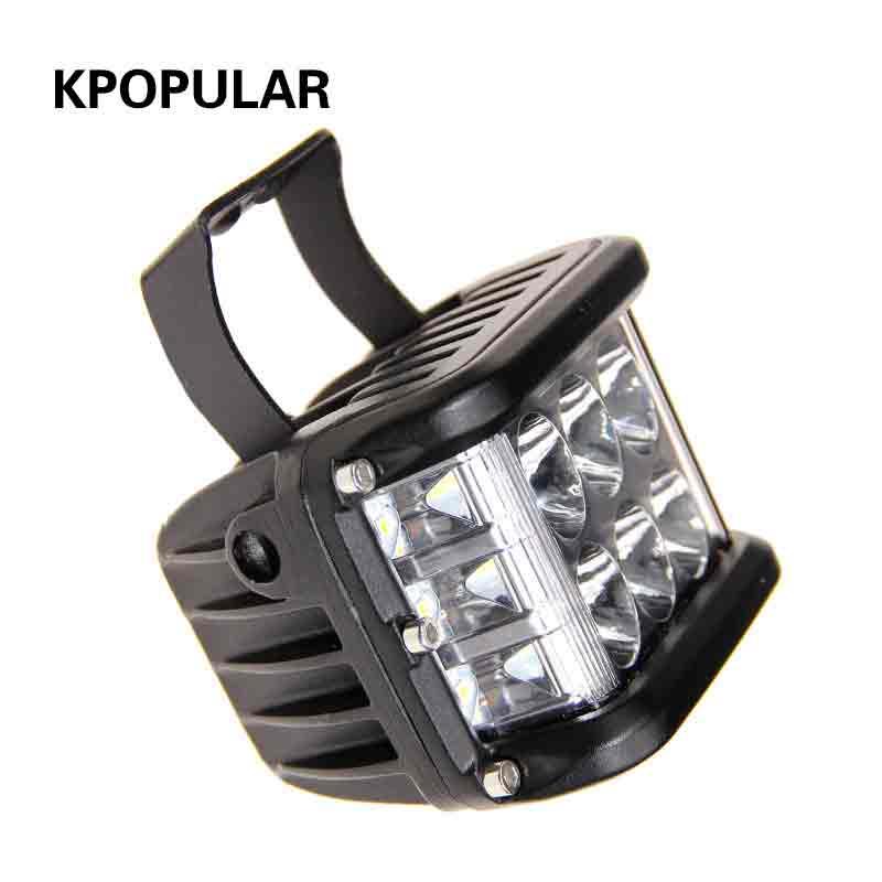 36 w lampe de travail led pour voitures auto lumière brouillard lampe le projecteur voiture lampe supplémentaire lampe à diode électroluminescente de l'automobile
