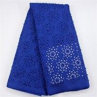 무료 배송 일류 제품 모피 구슬 돌 JC3, 인기있는 디자인 높은 품질 무거운 실크 직물 로얄 블루