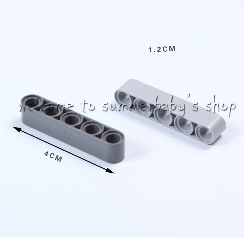 Toy Technic Liftarm 1*5 Thick 76P DIY kid diamond Building blocks enlighten playmobil ABS Compatible