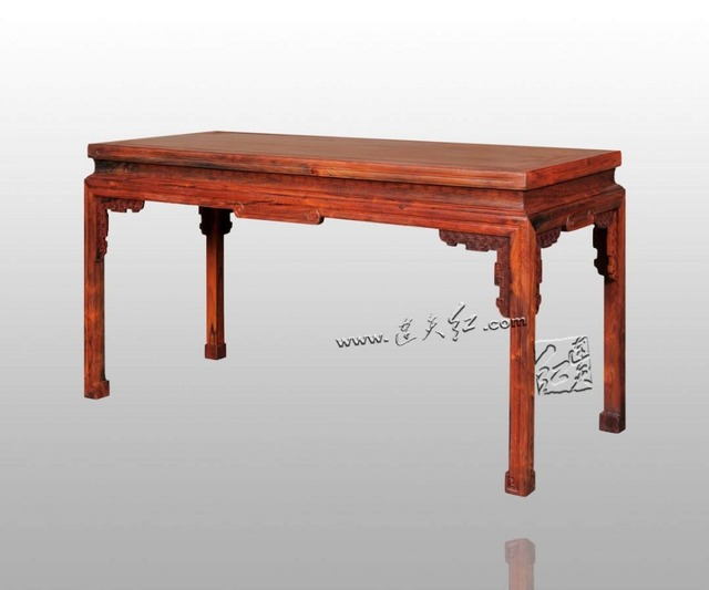 Chinois classique fylfot mosaïque dessin bureaux en bois massif